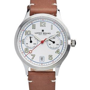 J43 Jefferson Brown Leather Strap Watch 38mm